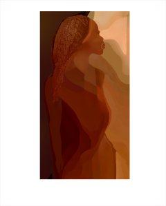 last in a series of digital paintings.