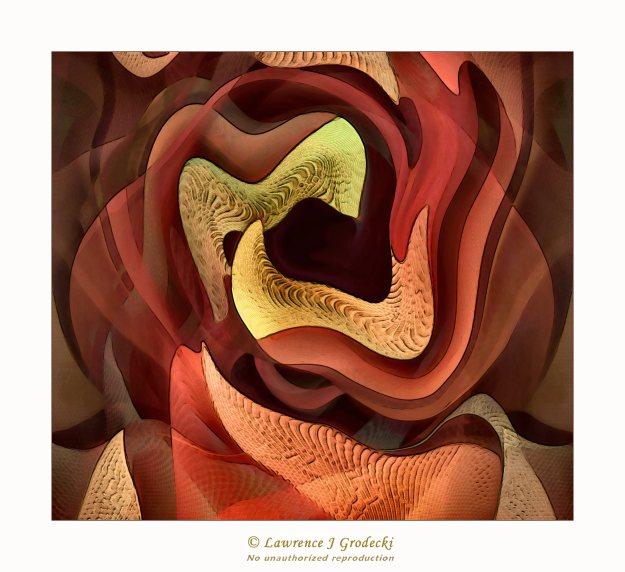 A very Salvador Dali kind of twisted image.